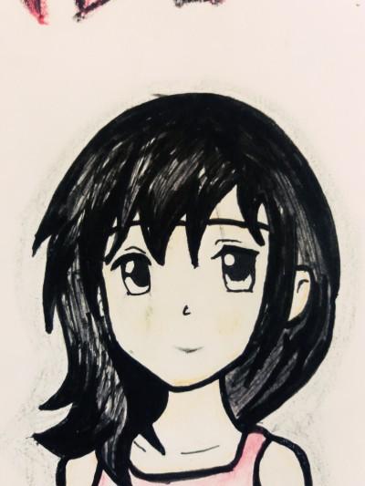my bestie   Ishrah_khan.T   Digital Drawing   PENUP