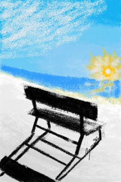 รับแสงฤดูหนาว | NuKrit | Digital Drawing | PENUP
