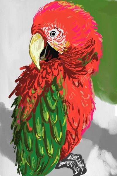 Red and green. | AntoineKhanji | Digital Drawing | PENUP