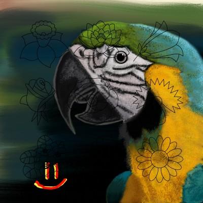 Цветопопугай ))) Не переводимый русский язык | GaRiSOn1568 | Digital Drawing | PENUP