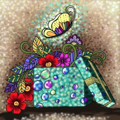 Coloring Digital Drawing | Mahwish | PENUP