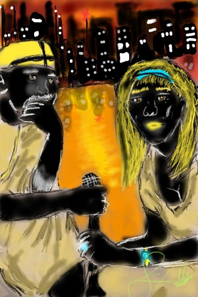 Heart of the city | Blackmonday | Digital Drawing | PENUP