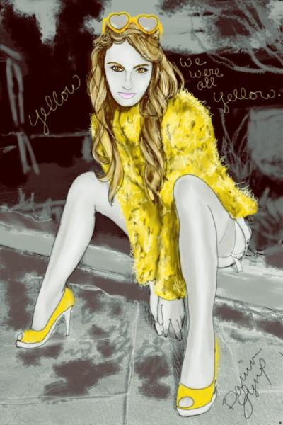 Yellow | missdarrian | Digital Drawing | PENUP