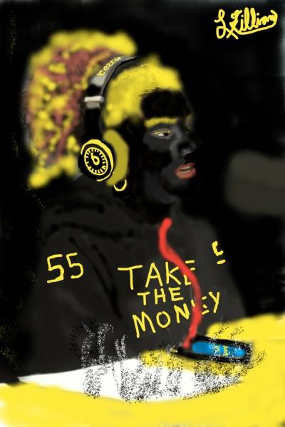 IN my bag | Blackmonday | Digital Drawing | PENUP