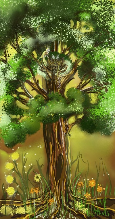 Tree | lopz | Digital Drawing | PENUP