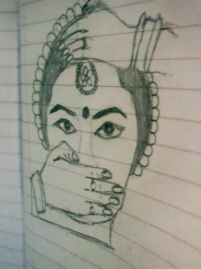 Traditional art Digital Drawing   Divya   PENUP