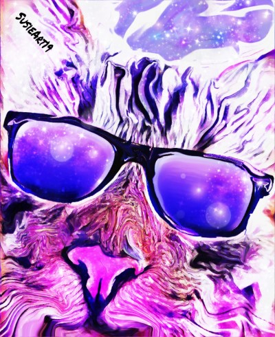 fun kool kat sunglasses | SusieBrooklyn | Digital Drawing | PENUP
