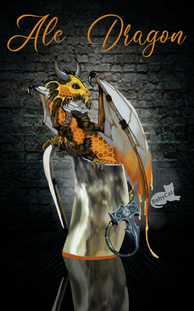 Ale Dragon | Babycat5 | Digital Drawing | PENUP