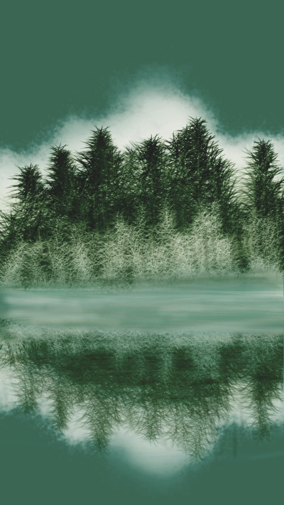 Lake of Morning calm 2 | CAREUS | Digital Drawing | PENUP