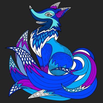 블루  | okaio | Digital Drawing | PENUP