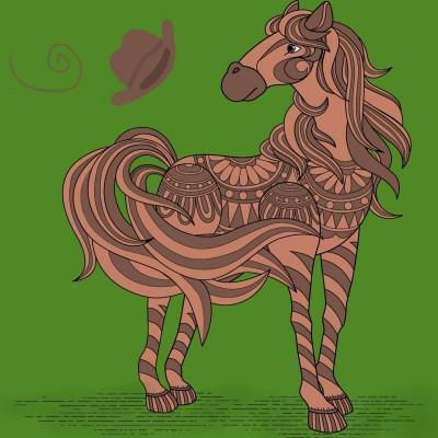 Coloring Digital Drawing | Marigold | PENUP