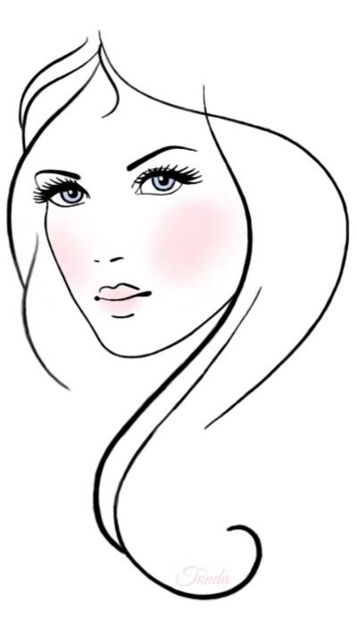 Beauty  | Tonda | Digital Drawing | PENUP