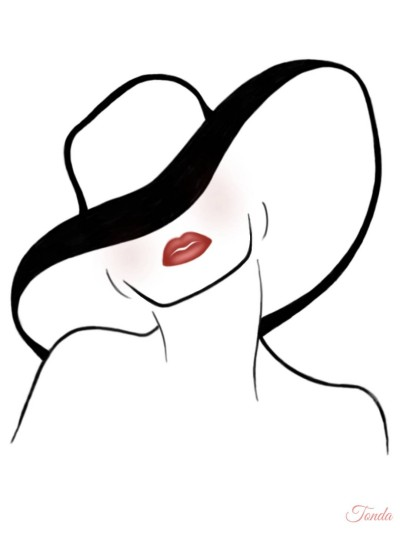 Don't Hide Your Beauty    Tonda   Digital Drawing   PENUP