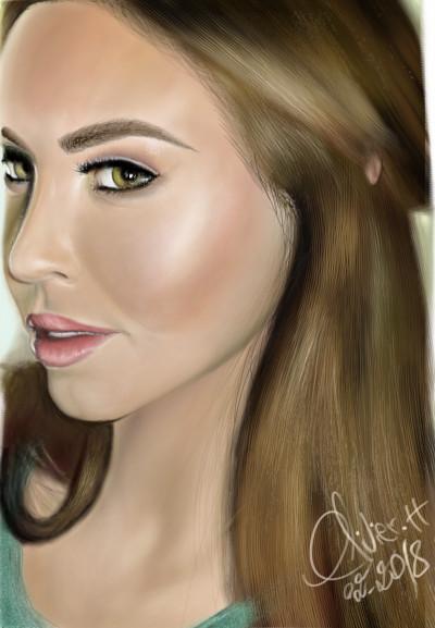 Elle | artgraphit | Digital Drawing | PENUP