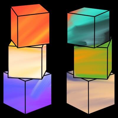 Cubes see desc | A.K.G_INDIA | Digital Drawing | PENUP