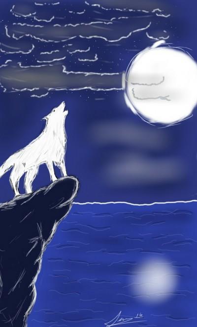 Moonlight  | SoloSketch | Digital Drawing | PENUP