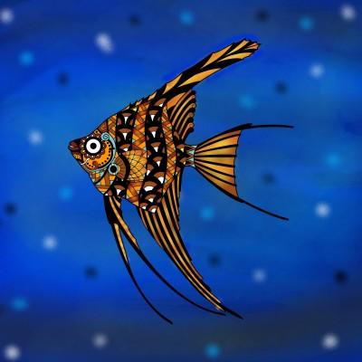 Fish. | lorac | Digital Drawing | PENUP
