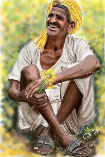 HappyFarmer (India) | SamTaqvi | Digital Drawing | PENUP