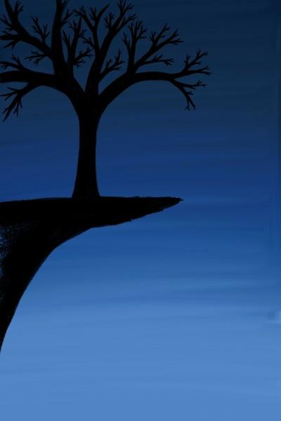 A Tree on a cliff    Ferdi   Digital Drawing   PENUP