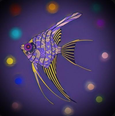 In the Sea | Chris | Digital Drawing | PENUP