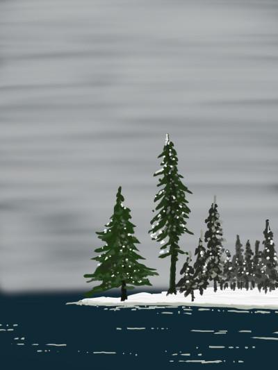 Lake Ontario | AntoineKhanji | Digital Drawing | PENUP