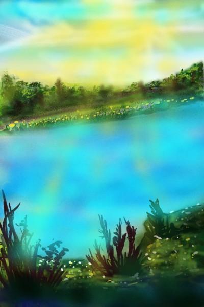Landscape Digital Drawing   Barbra   PENUP