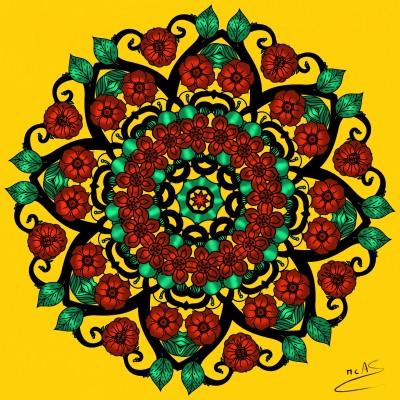 Mandala | Carme | Digital Drawing | PENUP