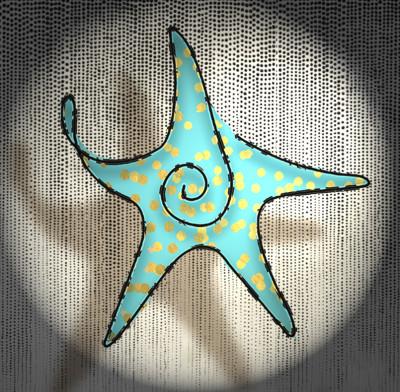 Starfish | deser | Digital Drawing | PENUP