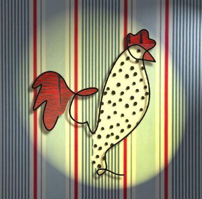 Rooster | deser | Digital Drawing | PENUP