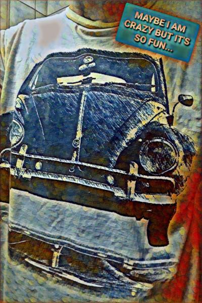 Volkswagen Beetle 1962 -lovely, STILL | Odessa27 | Digital Drawing | PENUP