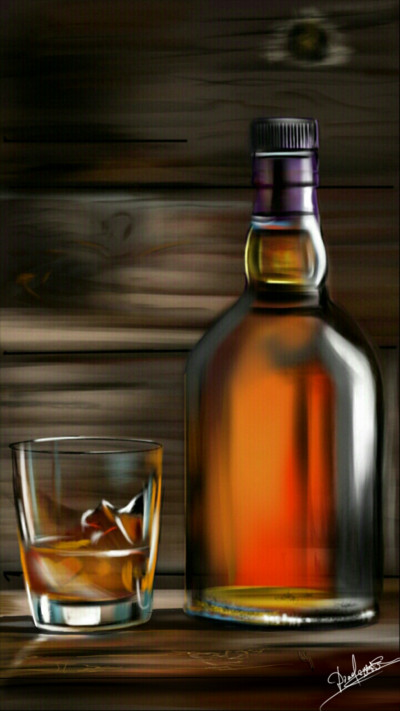Wood and whiskey   Abex   Digital Drawing   PENUP