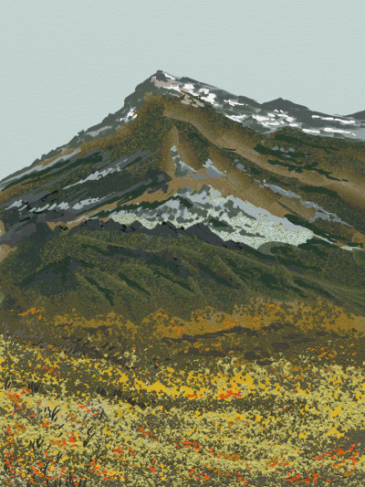 Adirondack National Park, NY | AntoineKhanji | Digital Drawing | PENUP