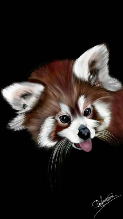 Red Panda   Abex   Digital Drawing   PENUP