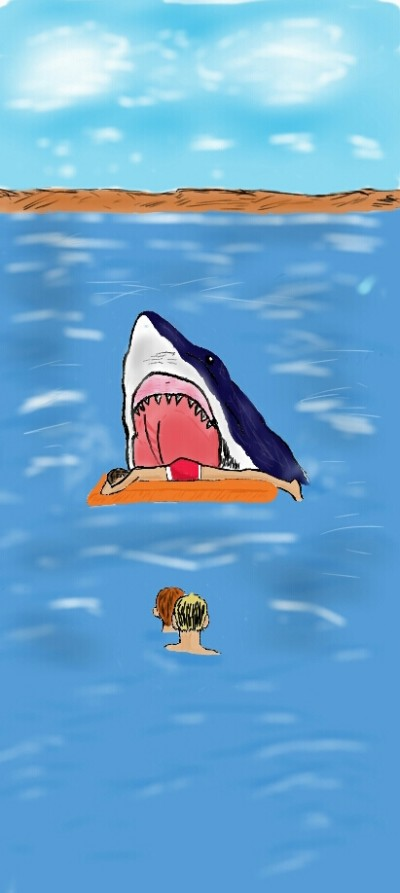 Jaws is back! | SoloSketch | Digital Drawing | PENUP