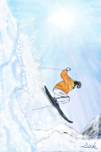 스키 | sky5016 | Digital Drawing | PENUP