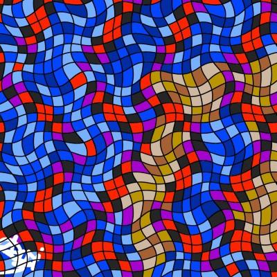 Kissing through a Mural | Avi | Digital Drawing | PENUP