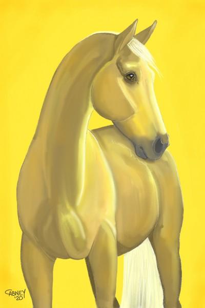 Golden Girl | shadowmare72 | Digital Drawing | PENUP