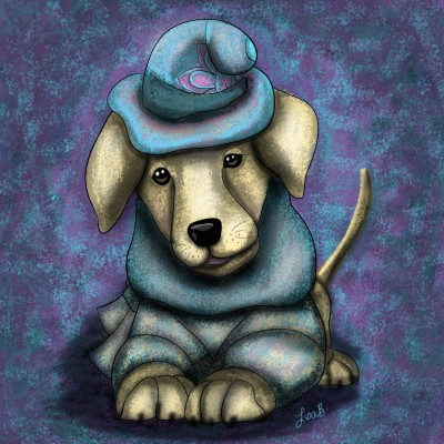 Good Sport Pup | LisaBme | Digital Drawing | PENUP