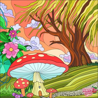 coloring  | arpu | Digital Drawing | PENUP