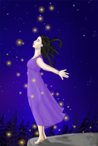 Fresh Breathing  | Star_Girl | Digital Drawing | PENUP