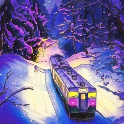 train  | Chris | Digital Drawing | PENUP