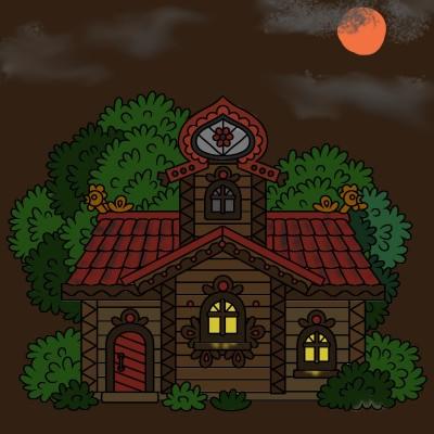 Cottage  | Chris | Digital Drawing | PENUP