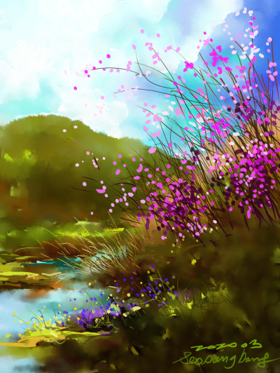 Azalea | SSB | Digital Drawing | PENUP