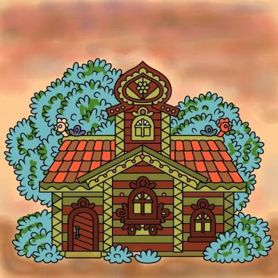 House ☆☆ | regina | Digital Drawing | PENUP