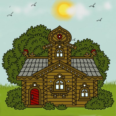 FaRmhouSe | Mrs.B | Digital Drawing | PENUP