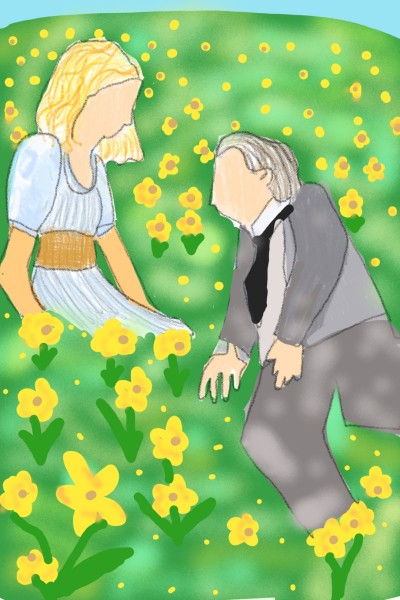 Daffodils (inspired by Big Fish) | Kelly | Digital Drawing | PENUP