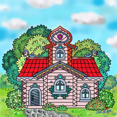 The house I want to live in♡ | ockja | Digital Drawing | PENUP