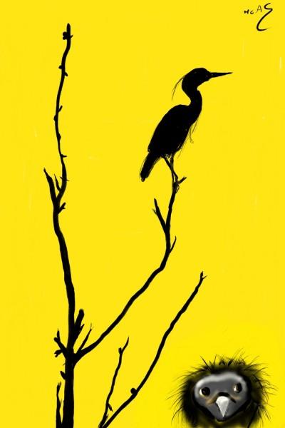 Un cel groc  | Carme | Digital Drawing | PENUP