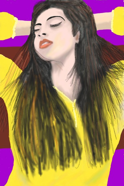 Portrait Digital Drawing | sulakshana | PENUP