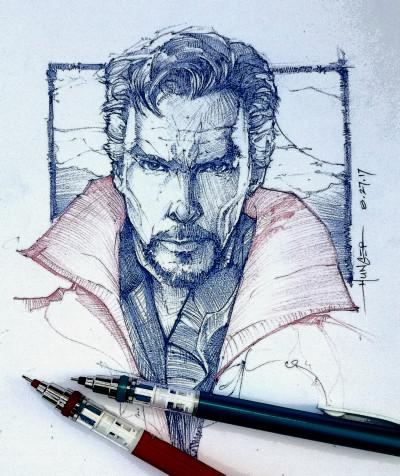 Dr. Strange | Hunger_art | Digital Drawing | PENUP
